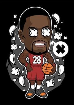 농구 선수 캐릭터