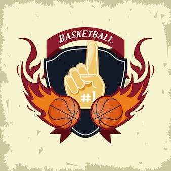 Basketball sport game card