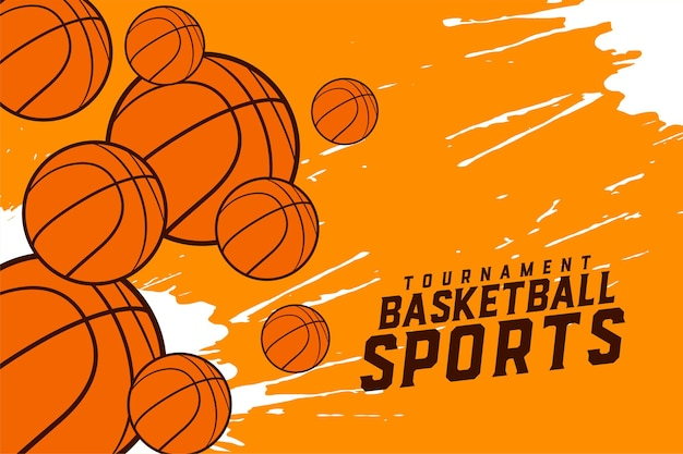 Дизайн спортивного турнира по баскетболу