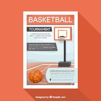 Basketball tournament brochure