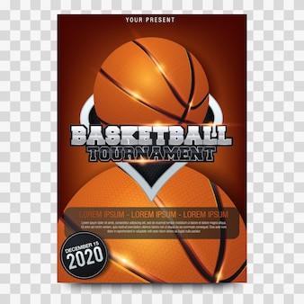 Basketball tournament posters