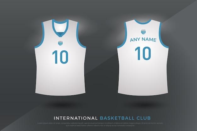 Basketball volleyball jersey t-shirt design uniform