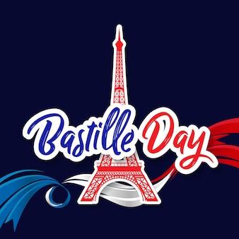 Bastille day, 14th of july, france celebrate