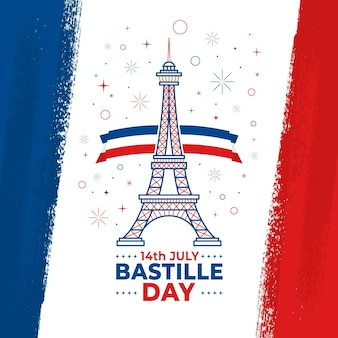 Bastille day design