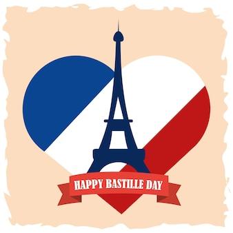 パリ祭のポスター