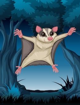 Bat jumping at you