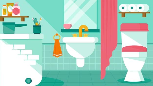 バスルーム-インテリアシーン