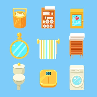 Набор предметов для ванной