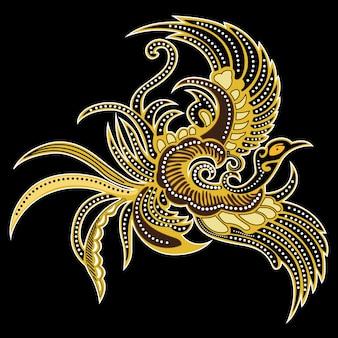 Batik bird