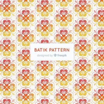 Batik pattern template