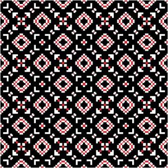 Узор батик в ацтекском стиле