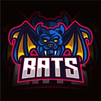 Bats esport gaming 로고