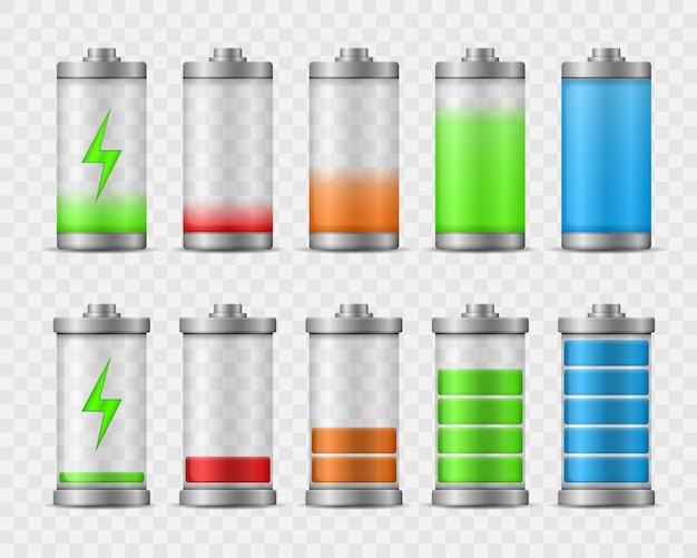 Уровень заряда аккумулятора при полной мощности