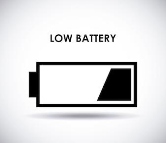 Battery power design, vector illustration eps10 graphic