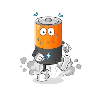 Иллюстрация работы батареи.