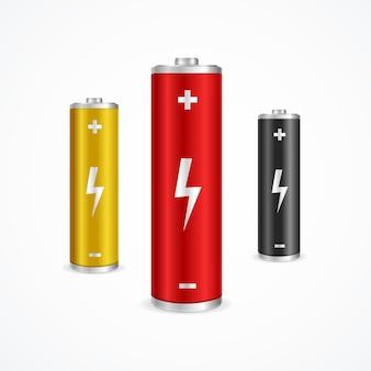 Комплект батарей.