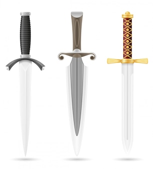 Battle dagger medieval