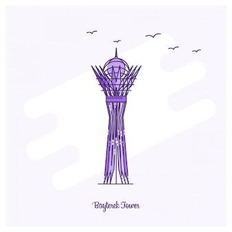 Bayterek tower landmark