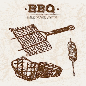 手作りbbq肉製品