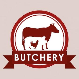 Bbqと酪農のテーマ