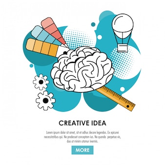 Be creative poster