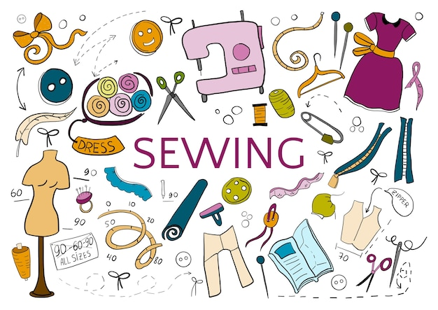 Be creative in sewing.