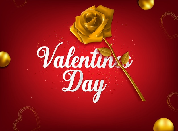 Be my valentine greeting card vector design
