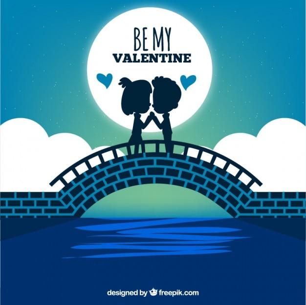 Be my valentine illustrazione