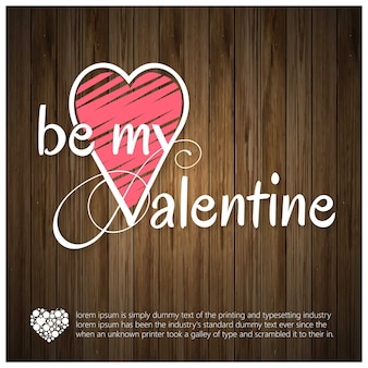Be my valentine typo