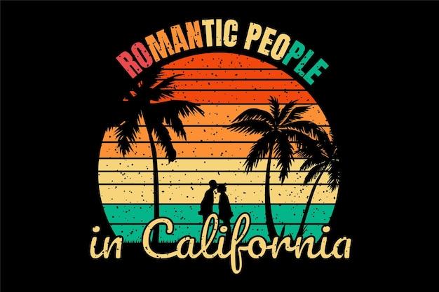 Пляж в калифорнии романтик
