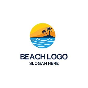 ビーチのロゴ
