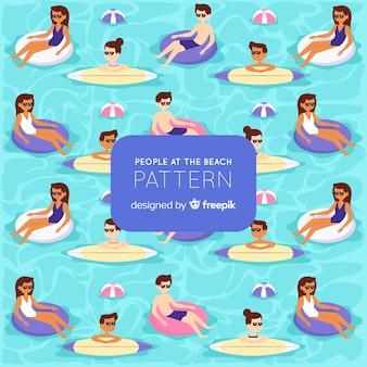 Beach pattern