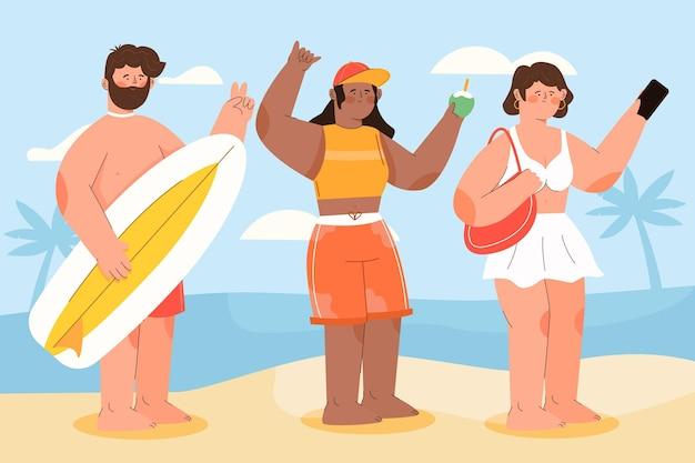 해변 사람들