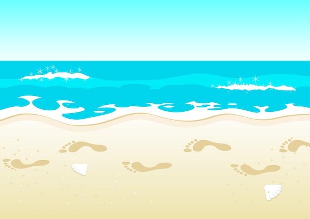 Пляжная прогулка