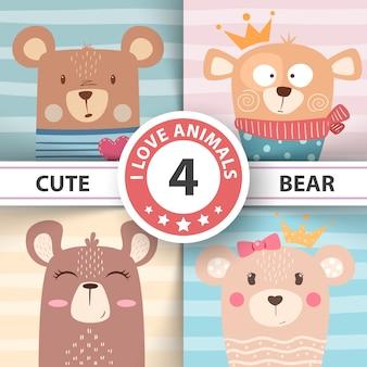 Bear characters.