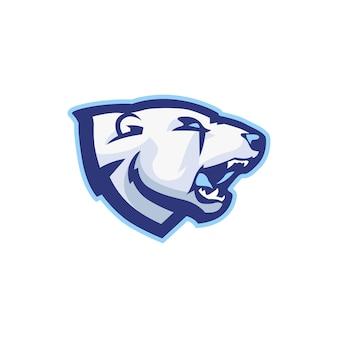 Bear head logo for esport gaming squad