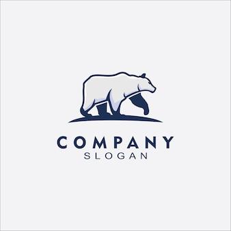 Bear logo for business