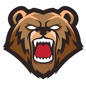 クマのロゴ