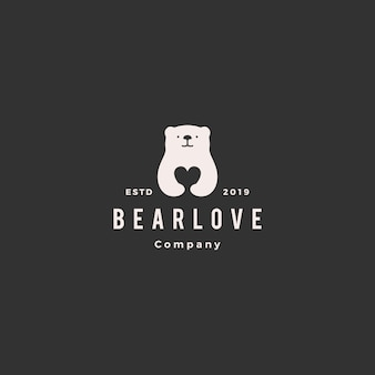 Bear love logo
