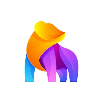 Bear modern logo