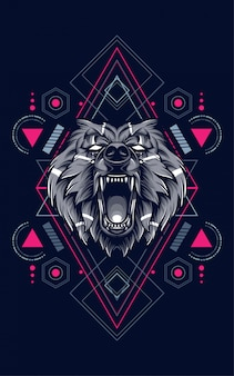 Bear sacred geometry