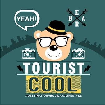 Bear the tourist