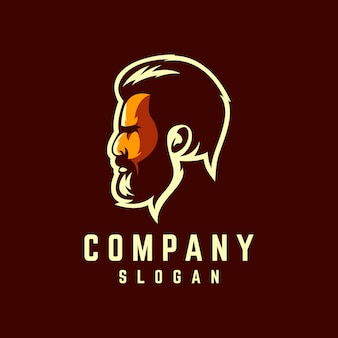 Beard logo design