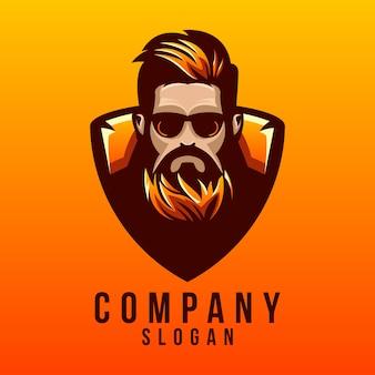 Beard logo design