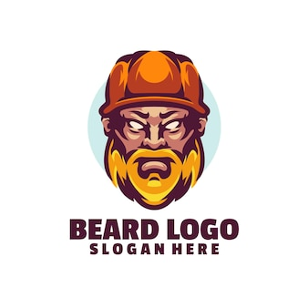 Beard logo template is vector-based. they are fully editable and scalable without losing resolution.