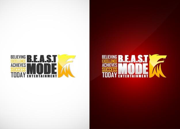 Beast entertainment logo