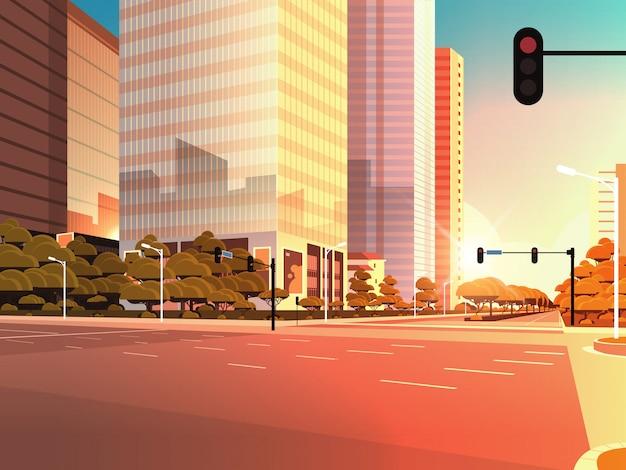 Beautifil city street