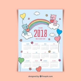 Beautiful 2018 calendar