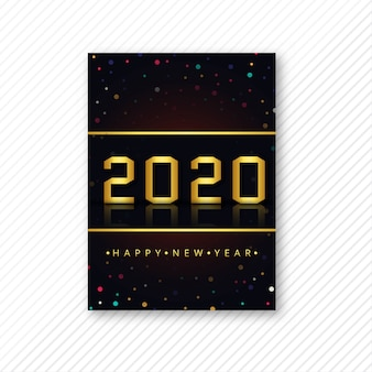 Beautiful 2020 flyer template