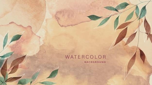 Красивые абстрактные акварельные обои для плакатов, баннеров, свадебных приглашений.